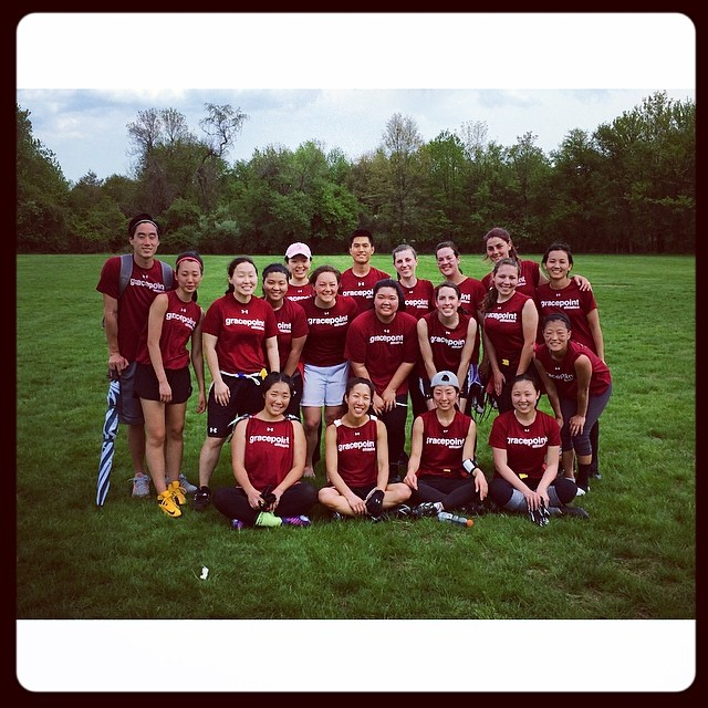 Sports Ministry – Women's Flag Football Spring 2014